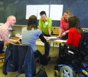 Disability Studies classroom at Syracuse University